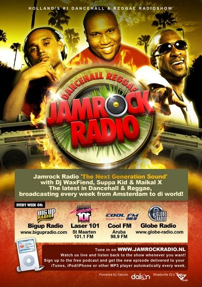 Jamrock Radio Launches Weekly Show on BigUpRadio.com
