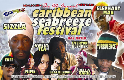 New Location For 11th Annual Caribbean Sea Breeze Festival