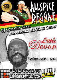 Allspice Reggae 131 features dancehall artist Little Devon