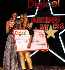 Brown Sugar is the 2009 Digicel Rising Star