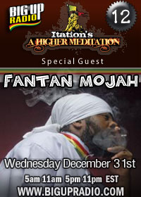 Higher Meditation 12 features the amazing Fantan Mojah