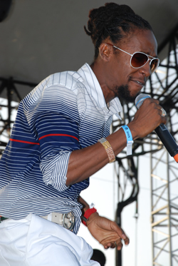 Jah Cure delivers outstanding performance at Sumfest 2009