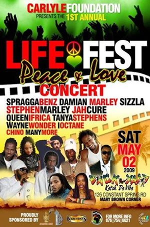 Life Fest Peace & Love Concer