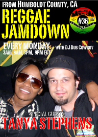 Tanya Stephens guest stars on Reggae Jamdown 36