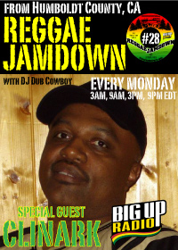 Reggae Jamdown show 28 features roots reggae artist Clinark this Monday