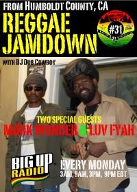 Reggae Jamdown 31 double interview feature with Mark Wonder and Luv Fyah