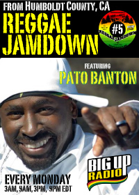 Reggae Jamdown 5 features the reggae legend Pato Banton Nov 10th