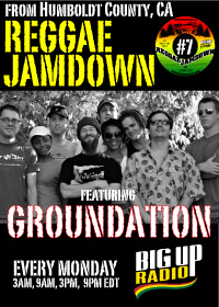 Reggae Jamdown 7 features roots reggae band Groundation this Monday