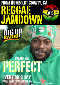 Reggae Jamdown 10 features reggae artist Perfect