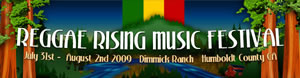 Early Bird Reggae Rising 2009 Tickets On Sale Now