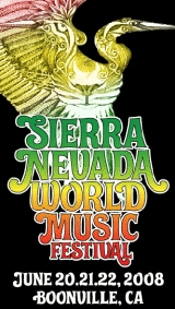 Sierra Nevada World Music Festival 2008, Celebrating 15 Years