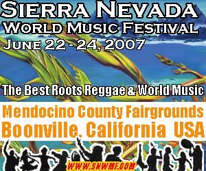 Sierra Nevada World Music Festival 2007 Update