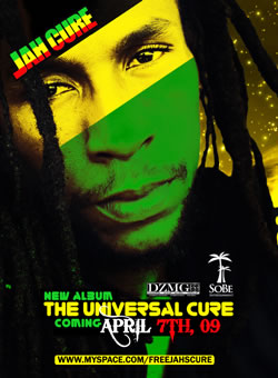 Jah Cure delivering the universal cure