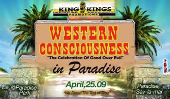 Western Consciousness 2009 happening April 25th