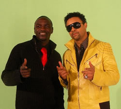 Shaggy and Akon Make Sweet Music