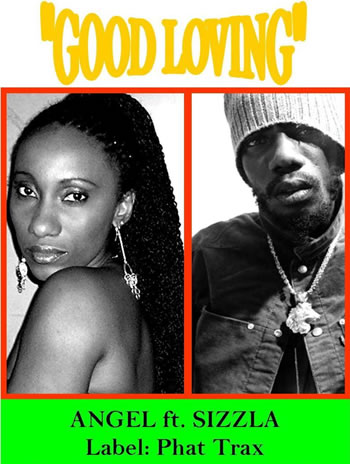 Angel and Sizzla warm up with new single Good Loving