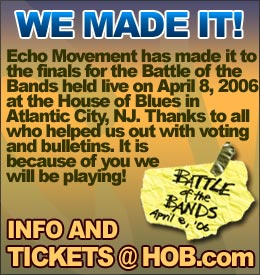 Support Reggae Group Echo Movement and vote online for the Battle of the Bands