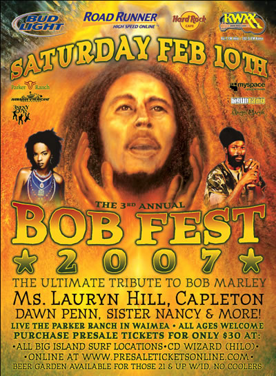 The 3rd Annual BOB FEST 2007 in Hawaii
