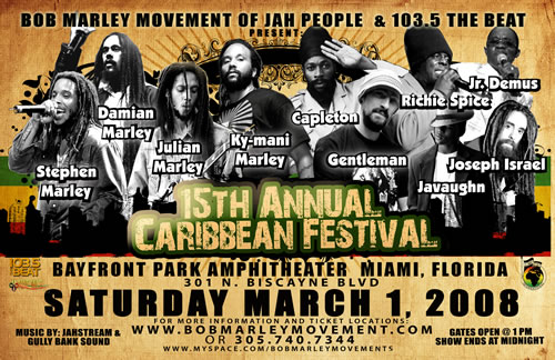 15th Annual Caribbean Fest in Miami tickets are on sale now!
