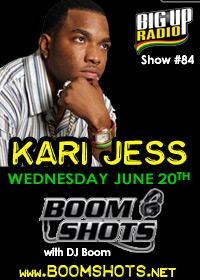 BOOM SHOTS #84 features Kari Jess this Wednesday!