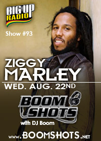 Ziggy Marley guest appearance on this week's Boom Shots #93