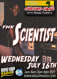 Culture Cafe 44 features the Dub grandfather Scientist
