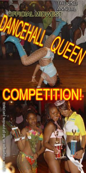 2nd Annual Official Midwest Dancehall Queen Competition will be held on July 1