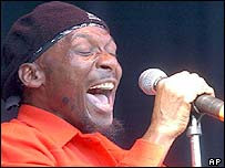 Reggae legend heads folk festival