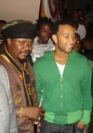 Luciano and Jon Legend Unite at Benifit Concert In Ghana