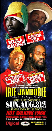 Irie Jamboree 2008 happening this Labor Day