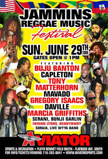 Jammins Reggae Music & Soccer Festival Coming on June 29th