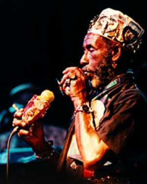 Mystical Lee 'Scratch' Perry Sparkles and Bemuses