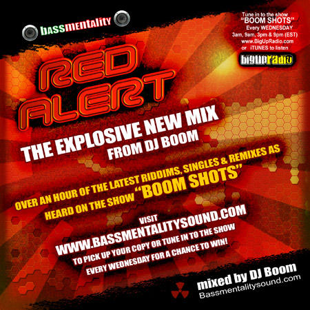 RED ALERT - New Mix from DJ Boom