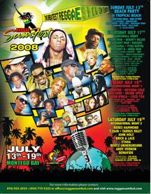 Count Down Begins To Reggae Sumfest 2008