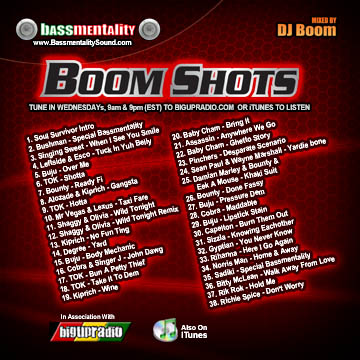 Cd Review: Boom Shots - Dj Boom