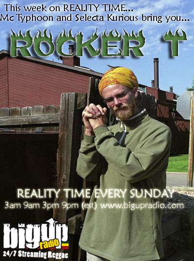 Rocker T visits the Reality Time show on Bigupradio.com