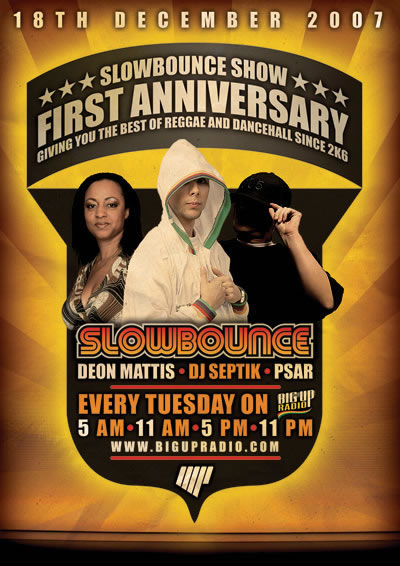 SLOW BOUNCE #51 One Year Anniversary on BigUpRadio.com