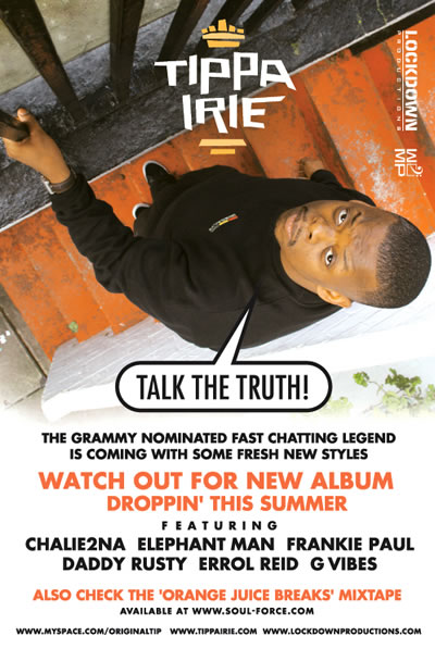 The Grammy nominated Tippa Irie is back with new album
