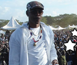 Mr. Vegas Performs Before Record-Breaking Crowd in Kenya