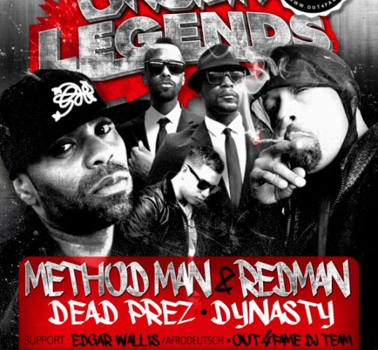Dynasty on tour with Method Man & Redman